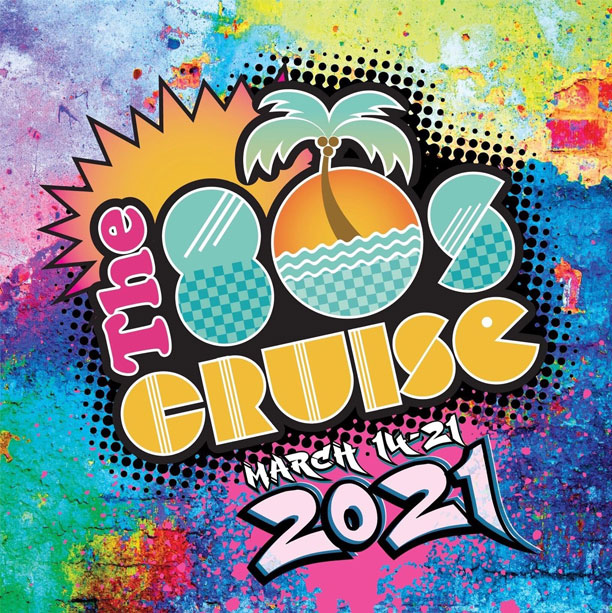 John Parr onboard the 80's Cruise March 2021
