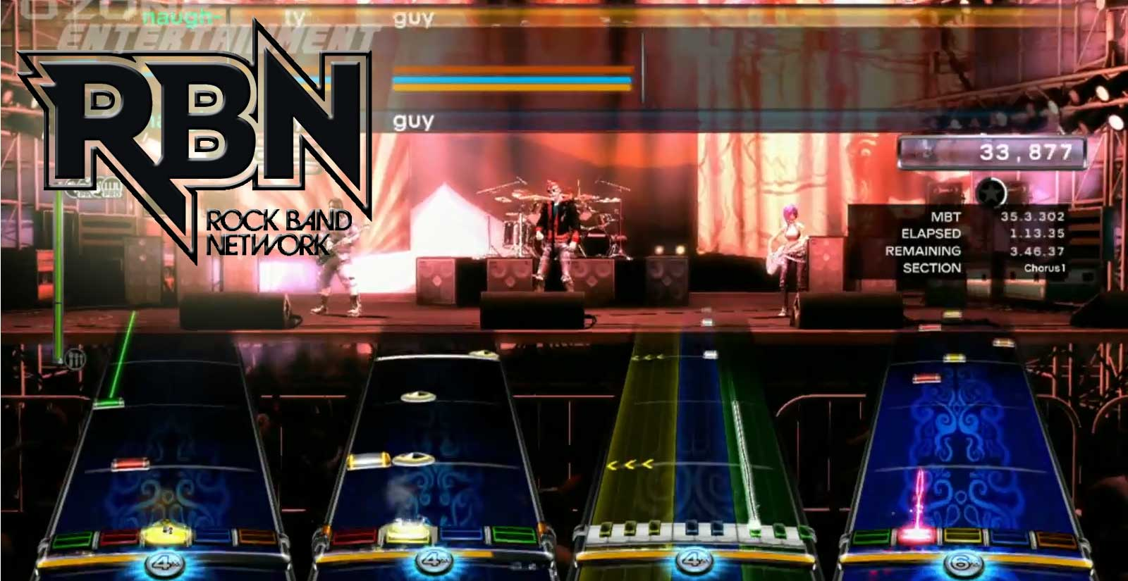 RBN - Rock Band Network Game